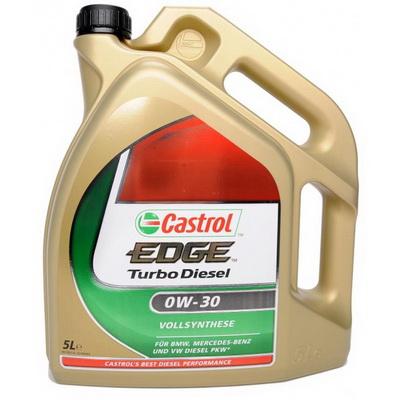 CASTROL_EDGE_TURBO_DIESEL_0W-30_4l Замена масел  и жидкостей Сastrol