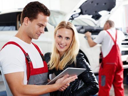 ремонт автомобиля в кредит